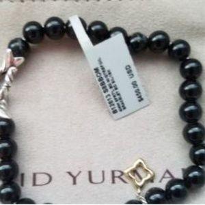 David Yurman Jewelry - David Yurman Onyx Bead Bracelet NWT